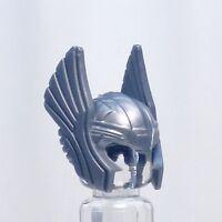 A776 Lego FIT CUSTOM grey Thor hawk man girl minifig HELMET headgear superhero