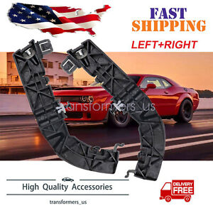 Pair Front Left & Right Bumper Support Brackets For Dodge Challenger 2008-2020 1