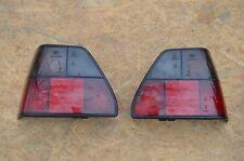 VW Golf MK2 Genuine Turn Lights 1984-1991 Tail light LEFT + RIGHT SET BLACK OEM