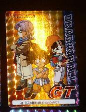 DRAGON BALL Z GT DBZ AMADA PP PART 30 CARDDASS CARD PRISM CARTE 40 HARD JAPAN **