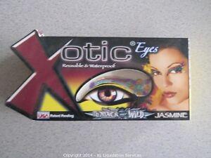 Xotic Eyes Self Adhesive Crystal Makeup Strips Costume Mask Kit