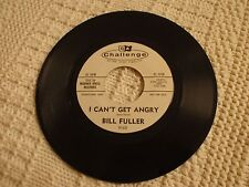 TEEN BILL FULLER  I CAN'T GET ANGRY/EVERYBODY BUT ME  CHALLENGE 9163 PROMO