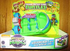 Ninja Turtles Half-Shell Heroes HOVERCRAFT SEA RESCUE LEO Figure & Vehicle Set