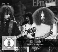 EPITAPH - LIVE AT ROCKPALAST  2 DVD + 3 CD NEU