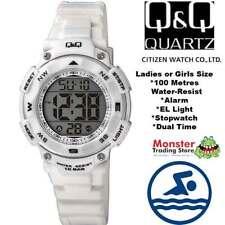 Q&Q Plastic Case Digital Wristwatches