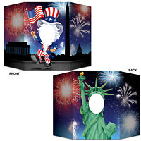 Statue of Liberty & Uncle Sam Photo Prop - USA American Independence Day Party