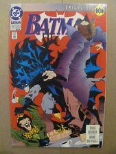 Batman #492 DC Comics Knightfall Begins 2nd Print Variant 9.2 Near Mint-