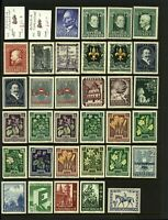 Austria Range of Middle Period Issues Including '47 War Relief Fund, '4 M Stamps