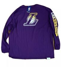 Mens Los Angeles Lakers Fanatics Branded Gradient Logo Long Sleeve Shirt NWT 2XL