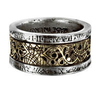 GENUINE Alchemy Gothic Steampunk Ring - Dr Von Rosenstein's Induction Principle