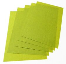 3M Polishing Paper Tri-Mite Wet or Dry 400 Grit 30 Micron Green 5 Half Sheets