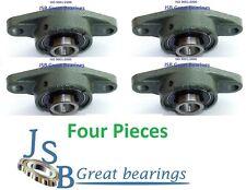 "(4) 1/2"" UCFL201-8 self-align UCFL201 oval flange pillow block bearing UCFL 201"