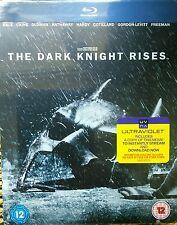 The Dark Knight Rises Blu Ray HMV Exclusive Steelbook New and sealed Rare Batman