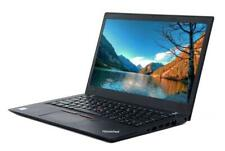 "- Lenovo ThinkPad T470s - 14""   i5-7300U 2.6GHz   8GB RAM   256GB SSD - Win 10 -"