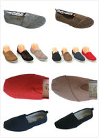 Women Ladies Canvas Hollowed Slip-on Flats Casual Lightweight Loafer Shoes
