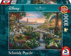 101 Dalmations: Schmidt Disney Premium Thomas Kinkade Jigsaw Puzzle 1000 piece