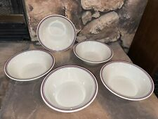 Corelle ABUNDANCE Pattern: 5 Soup / Cereal Bowl Lot 6-3/4""
