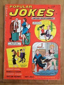 POPULAR JOKES Cartoon Entertainment 11/66 HUMORAMA Vintage Humor Gags