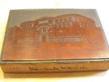 Keokuk YWCA - Historic Iowa Printing Press Block