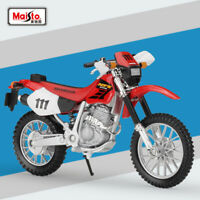 Maisto Miniature 1:18 Scale HONDA XR400R Motorcycle Diecast Model Toys With Case