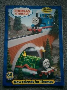Vintage 2005 THOMAS & FRIENDS Coloring Book (slightly used) with 2 sheets TATTOO