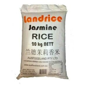 Jasmine Rice 20kg -Limited Quanity Available