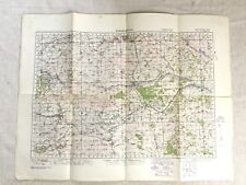 More details for 1940 ww2 military map of marlborough wiltshire original war office issue