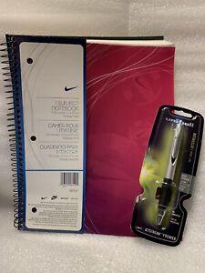 Nike 1 Subject Notebook & Uniball Jetstream Pen