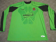 Authentic EPL West Ham United Game Soccer Football Goal Keeper Jersey Shirt XL