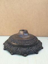 New listing Vintage Cast Metal Ornate Lamp Base