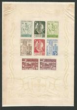 Portugal 1940 un feuillet monarchie portugaise /B1POR