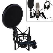 Audio Profession Condenser Microphone Mic Studio Sound Recording W Shock Mount#A