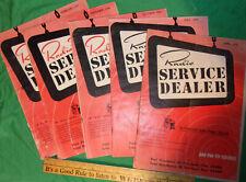 (5) Issues Radio Televisoin Service Dealer Magazine 1950/51 Low $$