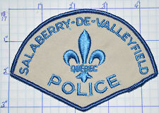 CANADA, SALABERRY-DE-VALLEYFIELD POLICE DEPT QUEBEC PATCH