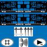 2 Kennzeichenhalter Kfz Auto EU Nummernschild Halter Depeche Mode Delta Machine