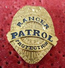 PIN'S POLICE USA RANGER PATROL PROTECTION