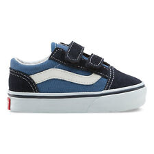 Vans Toddlers Old Skool V Navy  Suede VN-000D3YNVY All Sizes 4-10 Fast Shipping