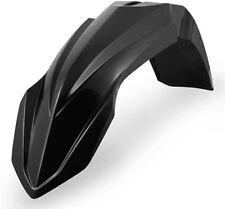 ACERBIS FRONT FENDER (BLACK) Fits: Yamaha YZ125,YZ250,YZ250F,YZ450F,WR250F,WR450