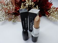 BNIB Mac Cosmetics Limited Edition Ruffian Gold Lipstick RARE HTF Gorgeous Color