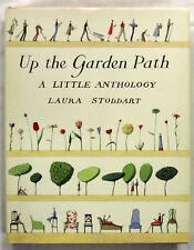 SIGNED Up the Garden Path A Little Anthology Laura Stoddart 1st Ed HCDJ 1999 VG