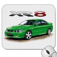 FORD BA    XR8    FALCON  SEDAN  XR 8   MOUSE PAD   ( 7 CAR COLOURS)