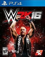 WWE 2K16 (Sony PlayStation 4, 2015)