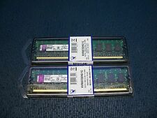(Pack 2uds.)Memoria RAM Kingston DDR2 1GB KVR667D2N5/1G PC2-5300 CL5 DIMM