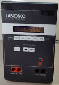 Labconco HV High Voltage Electrophoresis Digital 3000 Volt Power Supply