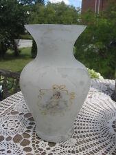 Murano vase CASA Elite Arte designed by M. Valenti Italy silk glass