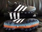 Adidas Adipure 11Pro AG/FG/Leder/schwarz/weiß/orange/blau/B26918