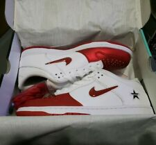 Supreme × Nike SB Dunk Low Red/Wht Jewel CK3480 600 Sz 11.5 In Hand ready to go!