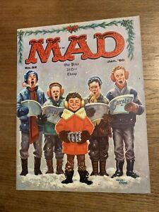 MAD MAGAZINE Vintage Number 52 Jan 1960 Christmas Holiday