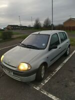 Renault Clio 2003 automatic 1.6 petrol, Mot December 2021 Drives very well