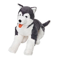 Ikea livlig Suave Juguete Gran Perro Husky 60 Cm, Regalo de Cumpleaños Grande Peluche Perrito UK-B786